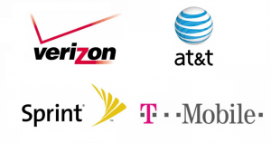Major Mobile phone carriers US