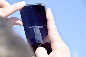 Smartphone used in Rio